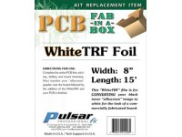 White Toner Reactive Foil (WhiteTRF)